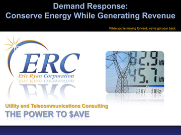Demand Response - Conserve Energy While Generating Revenue
